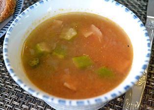 三重県「オクラとトマトのスープ」JA鳥羽志摩女性部本部役員
