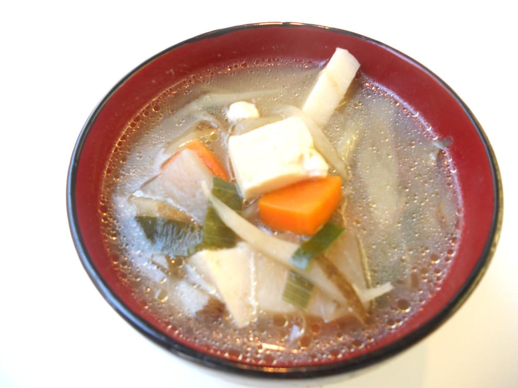 けんちん汁 (群馬県 北群渋川女性部)