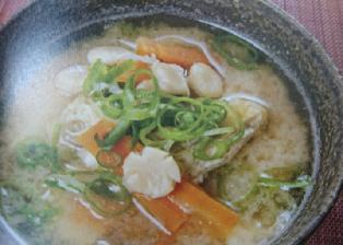 打ち豆汁(滋賀県 JAしが女性協議会)