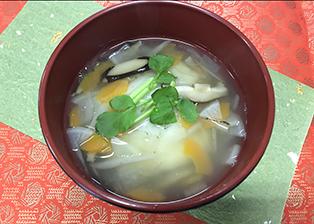 高知県「お雑煮(あんもち入り)」JA四万十女性部