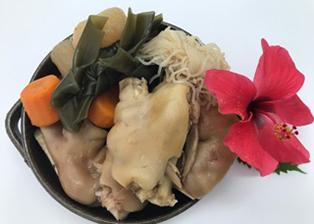 沖縄県「足てぃびち(豚足の煮つけ)」JAおきなわ女性部