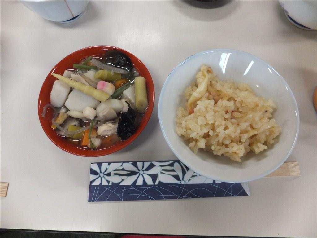 福島県「ほっき飯、こづゆ、白あえ」