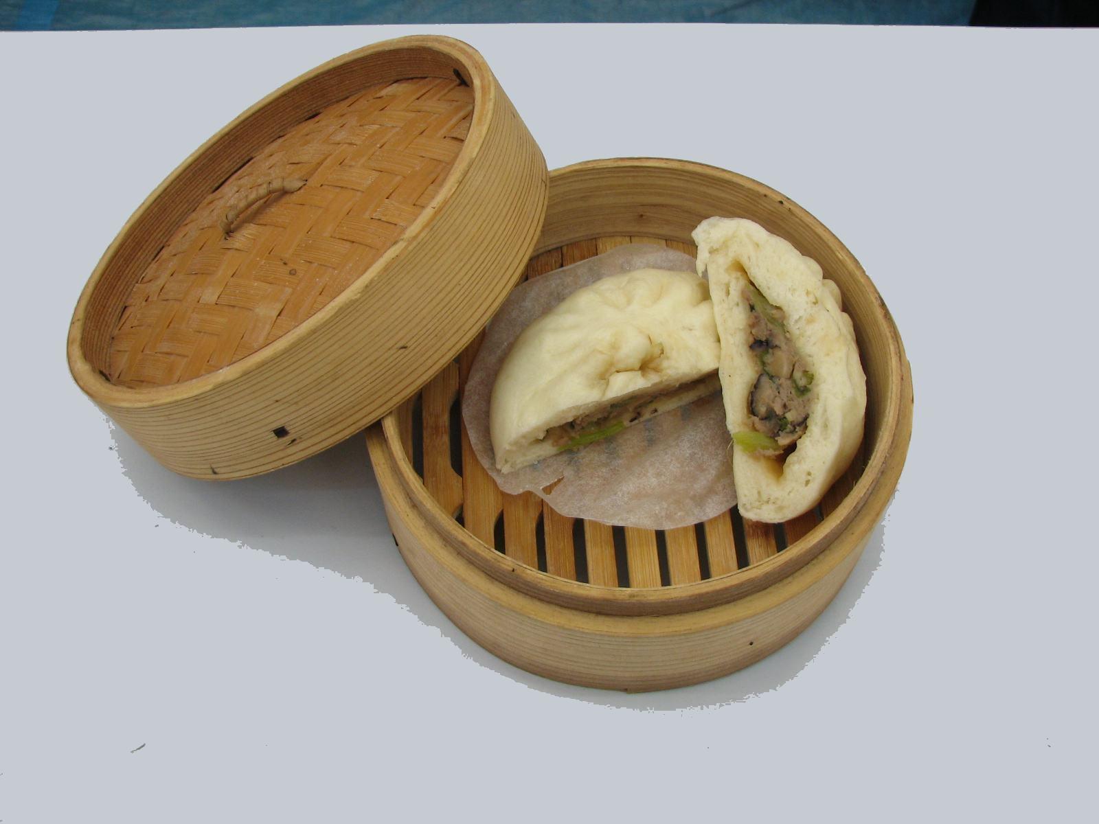小松菜肉まん(冷凍)